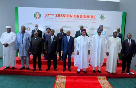 The 57th Ordinary Session of the ECOWAS Authority of Heads of State and Government in Niamey, Niger. September 2020