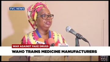 WAHO TRAINS MEDICINE MANUFACTURERS IN LAGOS