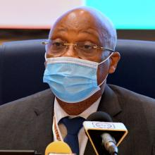 HE Jean-Claude Kassi Brou, ECOWAS President at the 57th Ordinary Session...in Niamey, Niger